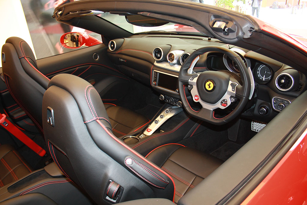 Ferrari California T Interiors