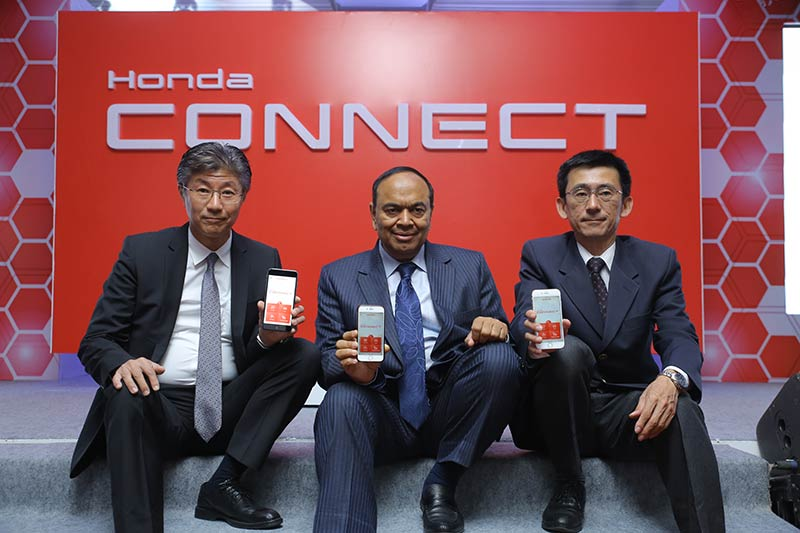 Honda Connect India Launch 2