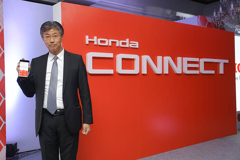 Honda Connect India Launch