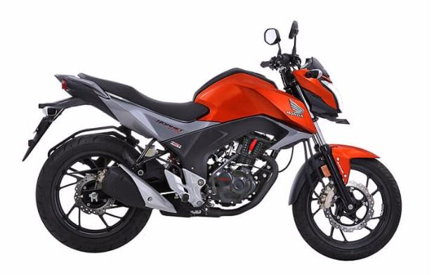 Honda Hornet in 160R Neo Orange Metallic Color