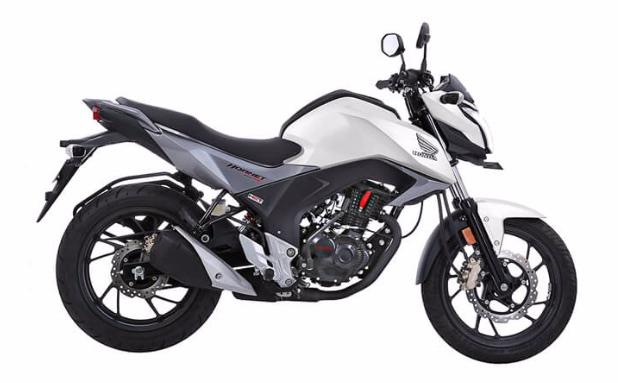 Honda CB Hornet in Pearl Amazing White