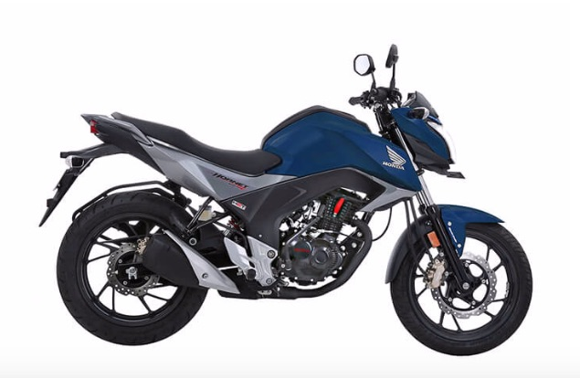 CB Hornet 160R in Blue