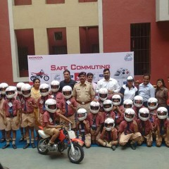 Honda and Reliance GI educates Mumbai school kids on Road Safety