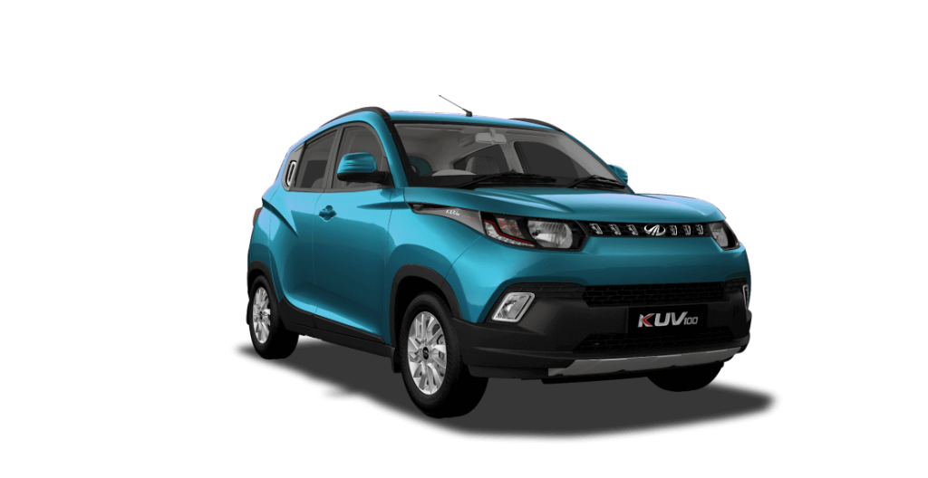 KUV100 in Blue Color