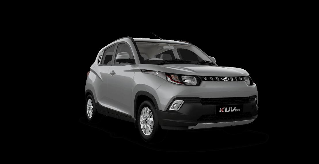 Mahindra KUV100 Silver Color