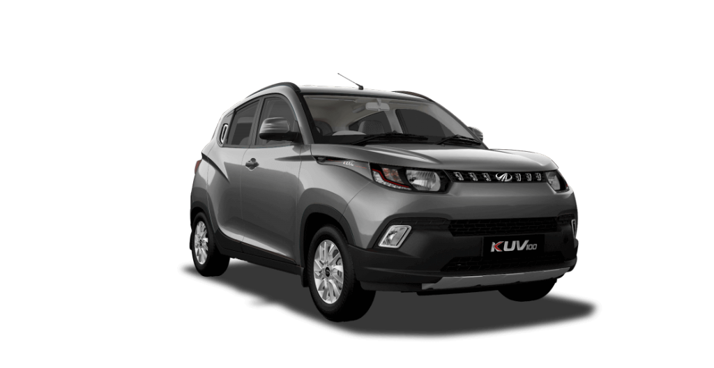 Mahindra KUV100 in Designer Grey Color