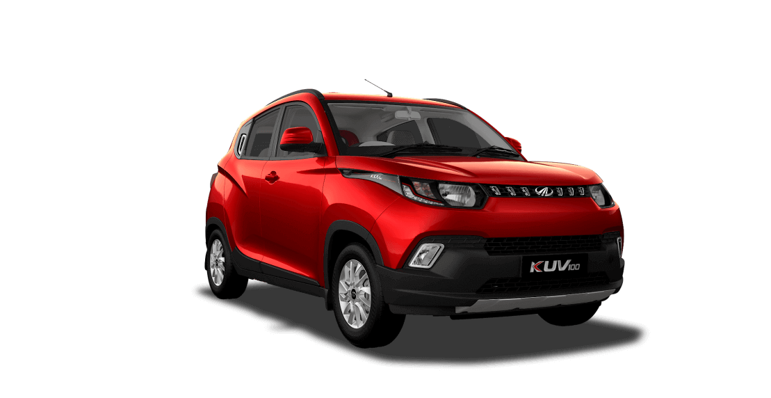 Mahindra KUV100 in Red Color
