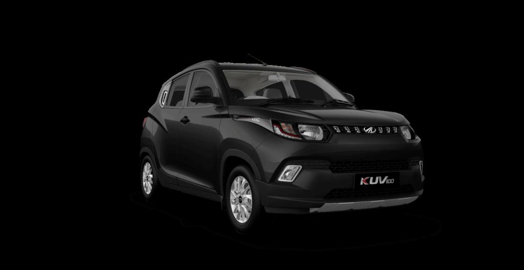 Mahindra KUV100 in Midnight Black Color