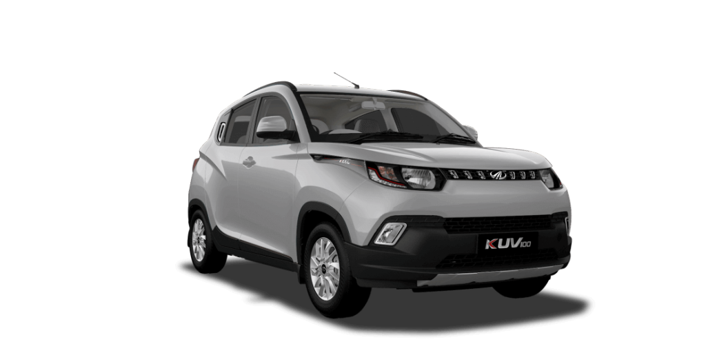 KUV100 in Pearl White Color