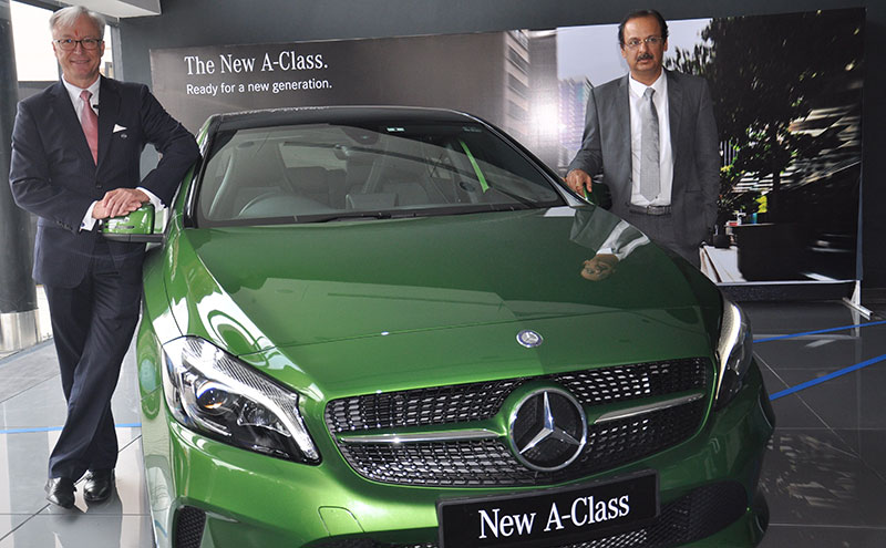 Mercedes Benz opens showroom in Dehradun