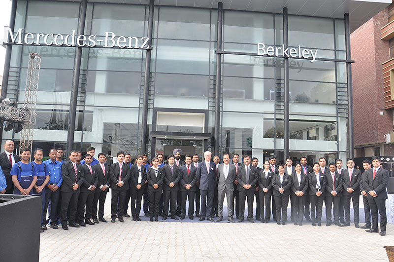 Group Pic taken at Mercedes Benz Showroom, Dehradun