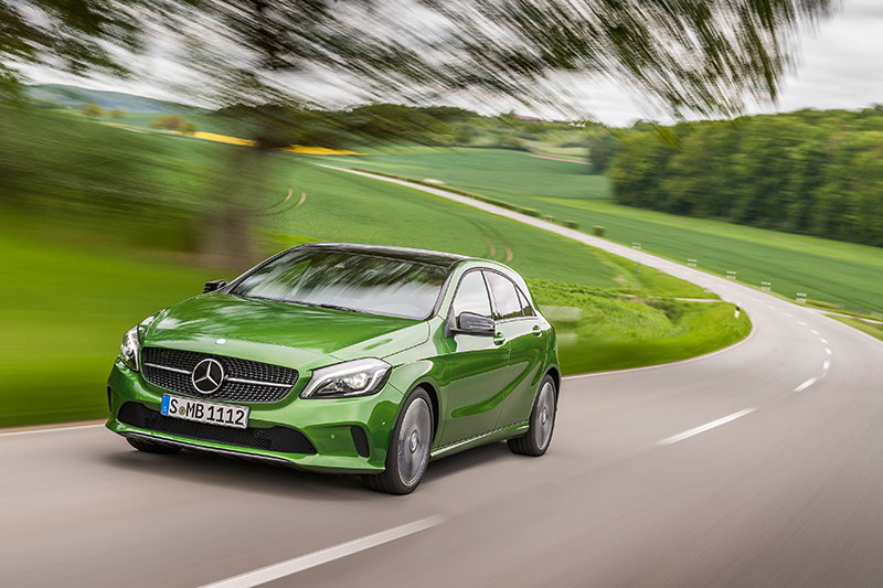 New Mercedes Benz A-Class