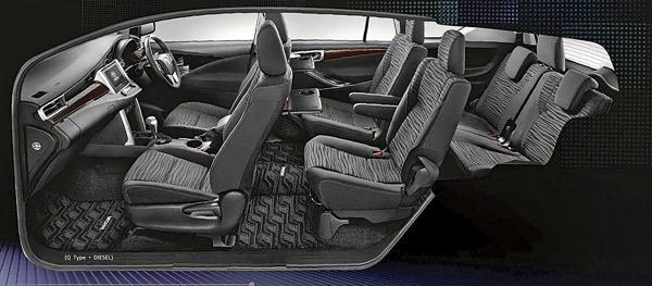New Toyota Innova Interior Seatings Photo 4