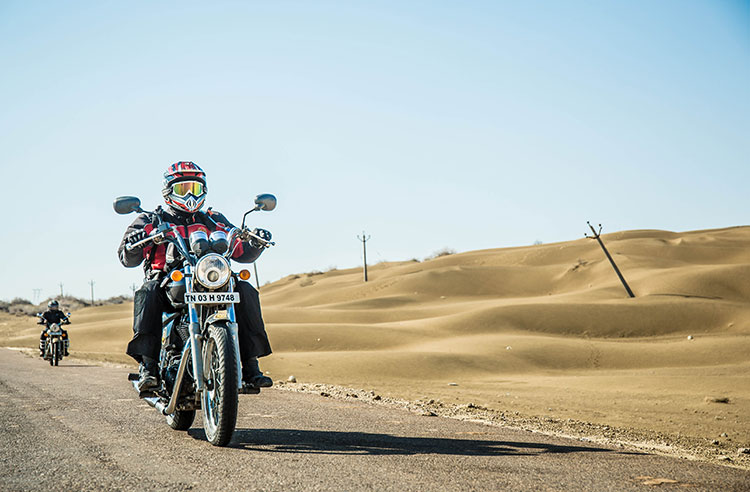 Royal Enfield Rajasthan Road Trip