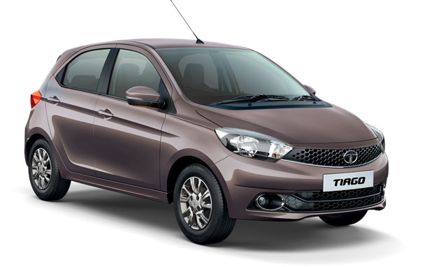Tata Tiago in Expresso Brown Color