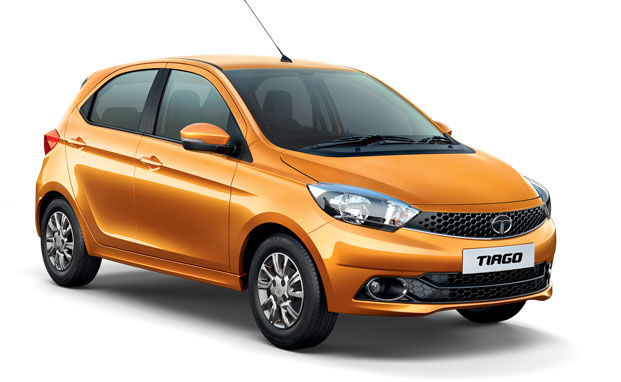 Tiago sunburst orange color