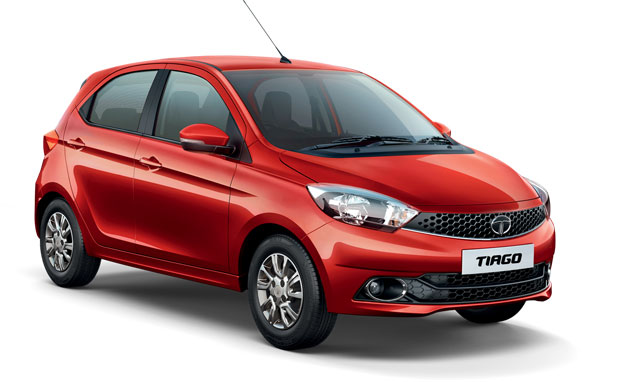 Tata Tiago Red Color Photo