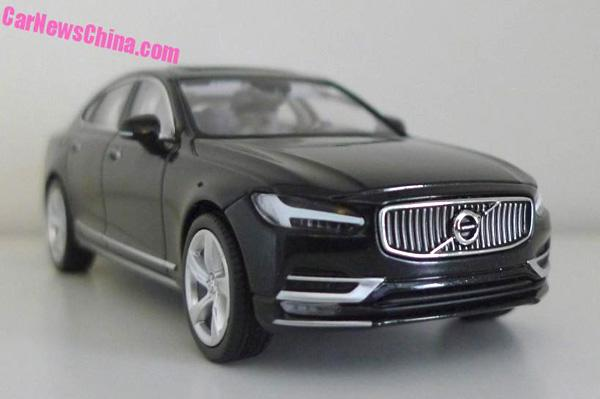 Volvo S90 car in India. The Volvo S90 will be brought to India in 2016.