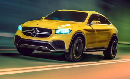 Mercedes Benz Concept GLC Coupe