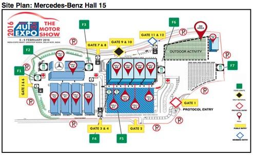 Mercedes-Benz Sitemap