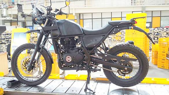 Launch date of Royal Enfield Himalayan