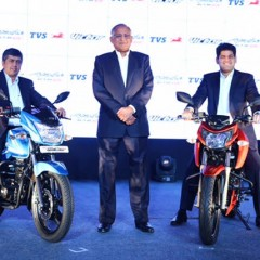 TVS Victor and TVS Apache RTR 200 launched in India