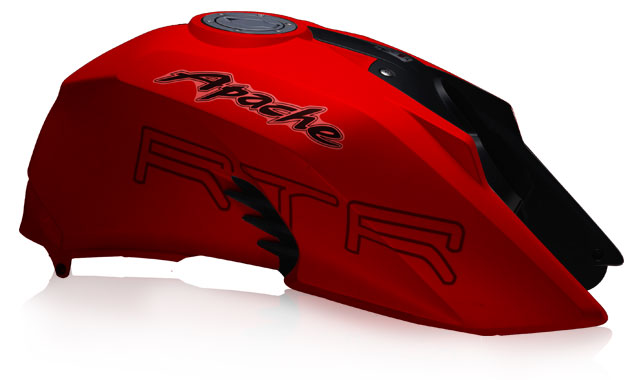 TVS-Apache-RTR-200-Matte-Red-Color