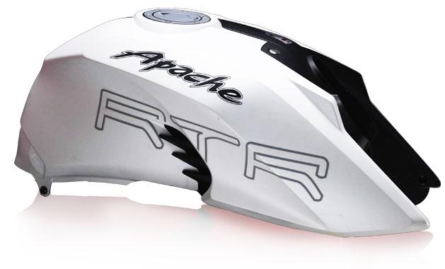 TVS-Apache-RTR-200-White-Color