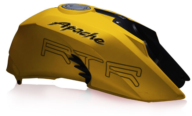 TVS-Apache-RTR-200-in-matte-yellow-color