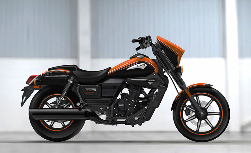 UM Motorcycles Renegade Sport Young