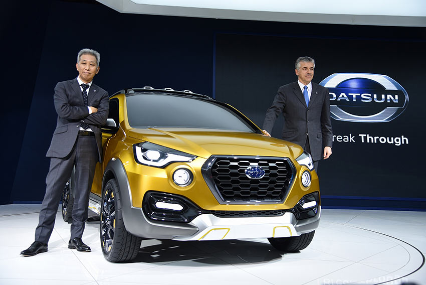 Datsun GO Cross Concept in India