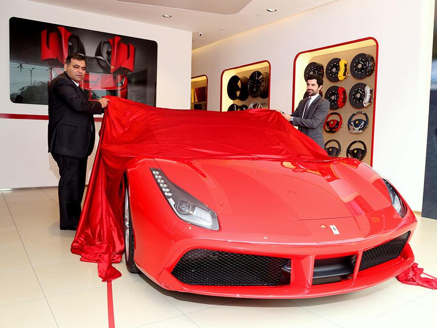 Ferrari 488 GTB Launched in India
