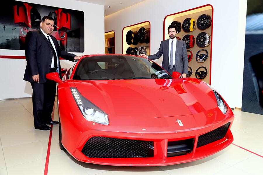 Ferrari 488 GTB Car launched in India