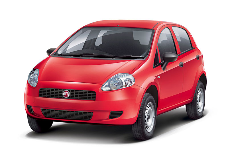 Fiat Punto Pure in Red color