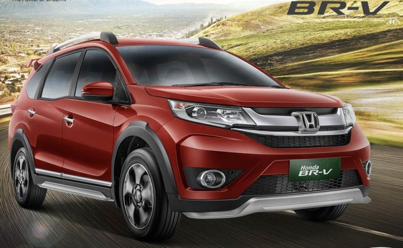 Honda BR V Launch On 1 May 2016