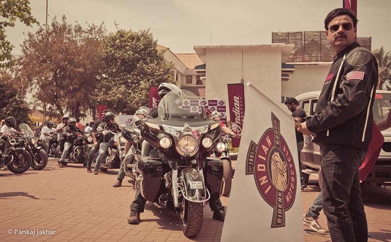 Indian Motorcycle at IBW