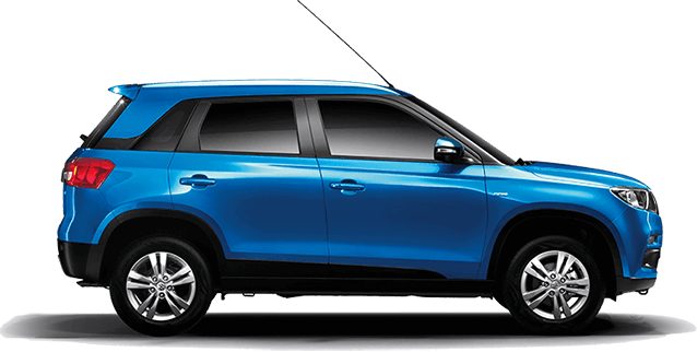 Maruti Vitara Brezza in Blue Color