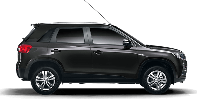 Maruti Vitara Brezza in Granite Grey color single tone