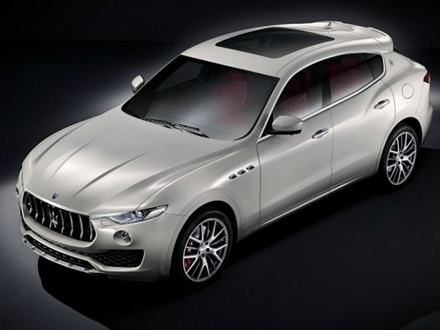 Maserati Levante SUV launch in India
