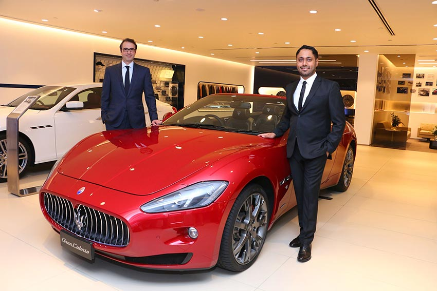 Maserati Mumbai Showroom