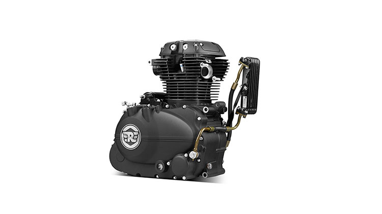 Royal Enfield LS140 Engine 1