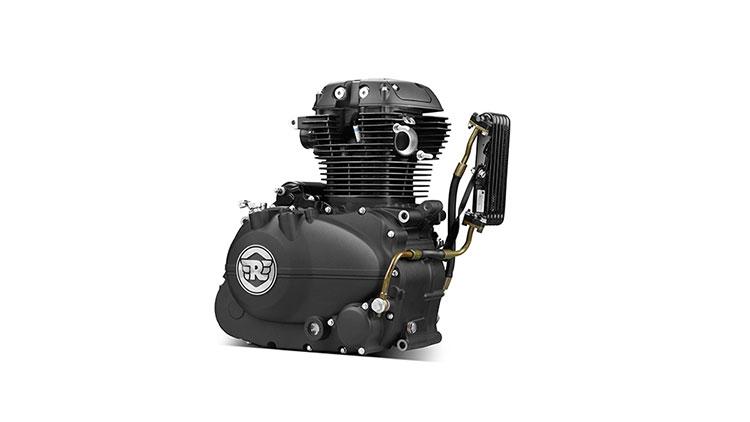 Royal Enfield LS140 Engine 1
