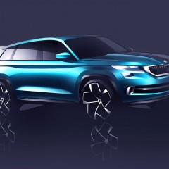 SKODA VisionS shows the future of SKODA's SUV portfolio