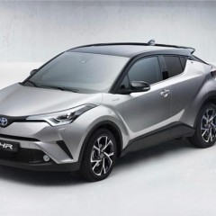 Toyota CH-R revealed in production form before Geneva Motor Show