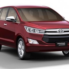 Toyota Innova Crysta to launch in May 2016 in India