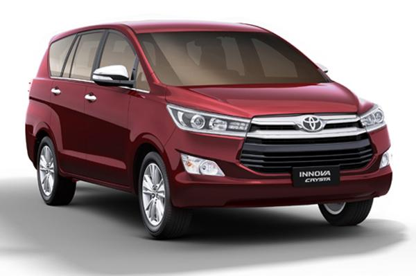 Toyota Innova Crysta in India