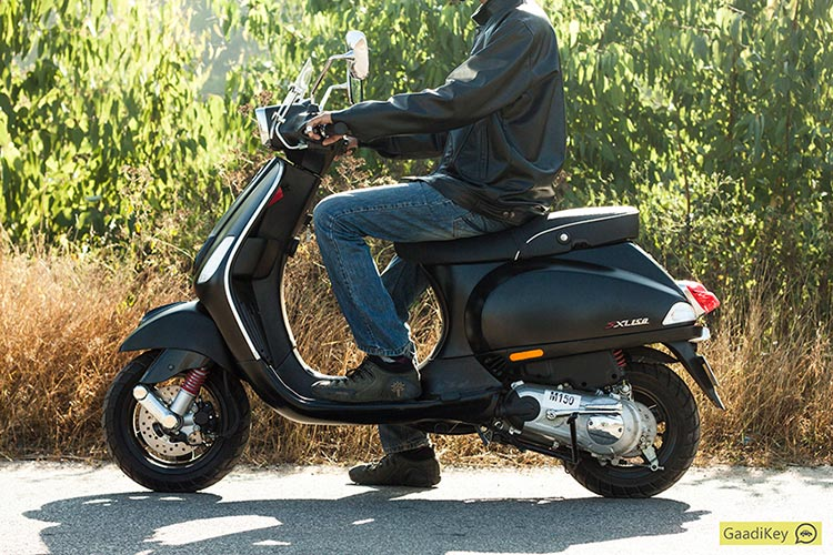 Vespa Sxl 150 Review Top Notch And Effortless Gaadikey