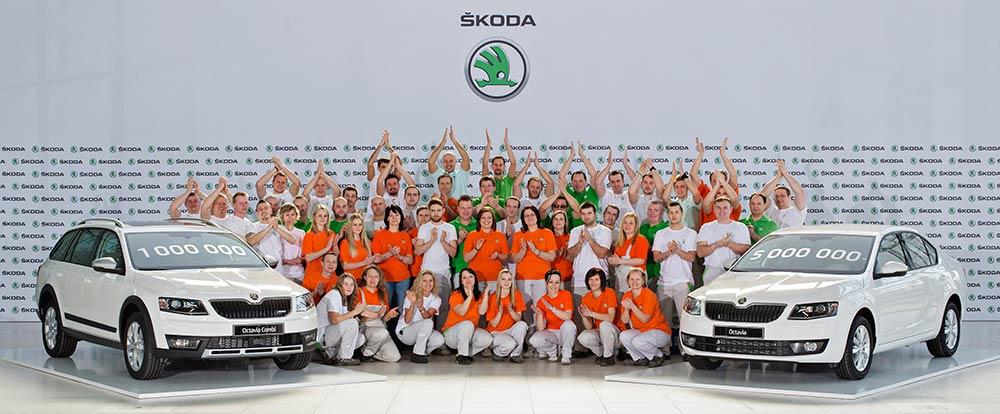 3rd generation Skoda Octavia crosses 1 million mark