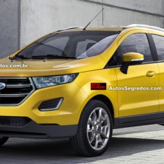 2017 Ford EcoSport Photos leaked on Internet