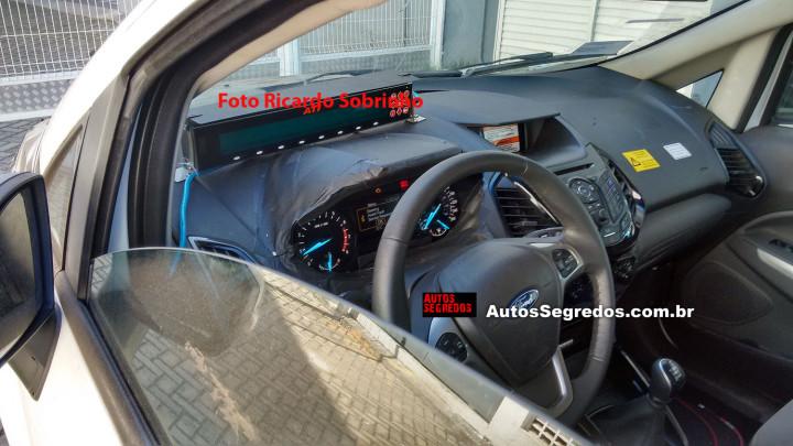 2017 EcoSport Interior Dashboard